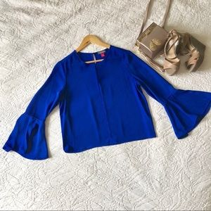 Vince Camuto Bell-Sleeve Blouse